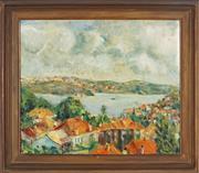 Sale 8838A - Lot 5170 - Artist Unknown - Untitled, 1954 (Landscape) 50 x 60cm