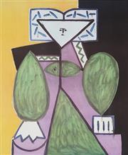 Sale 8896A - Lot 5065 - After Pablo Picasso (1881 - 1973) - Femme en Vert et Mauve, 1947 73 x 51 cm