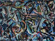 Sale 8992 - Lot 539 - Dick Watkins (1937 - ) - Night in Tunisia, 1973 122 x 162.5 cm (total: 122 x 162.5 x 5 cm)