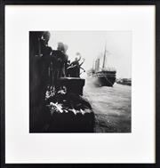 Sale 8309A - Lot 77 - Max Dupain (1911 - 1992) - Last Goodbyes, S.S. Ormonde, 1938 35 x 35cm
