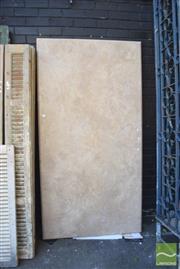 Sale 8390 - Lot 1380 - Large Marble Table Top Slab