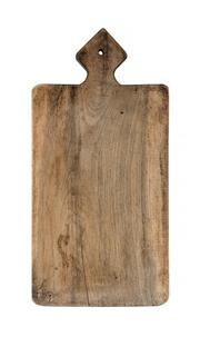 Sale 8444A - Lot 69 - An antique French large bread / cheese board, 70 x 34 x 4.5cm
