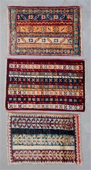 Sale 8499C - Lot 47 - 3 x Afghan Ariana 70cm x 40cm