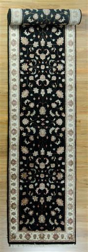 Sale 8617C - Lot 86 - Jaipur Silk n Wool runner 510x78