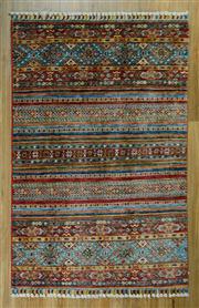 Sale 8665C - Lot 27 - Super Fine Afghan Chobi Shal 155cm x 102cm