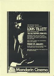 Sale 8766A - Lot 5026 - Louis Tillett And His Twelve Piece Band, Live in Concert - screenprint