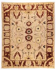 Sale 8780C - Lot 202 - An Afghan Chobi Naturally Dyed In Hand Spun Wool, Very Suitable To Australian Interiors, 395 x 300cm