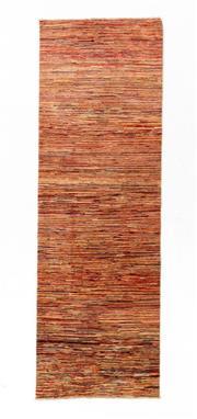 Sale 8790C - Lot 102 - An Afghan Stripe Chobi Natural Dyes 100% Wool Pile, 292 x 96cm