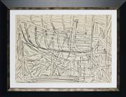 Sale 8908A - Lot 5016 - Desiderius Orban (1884 - 1986) - Untitled (Construction of a Hull), 1966 -1969 36.5 x 38 cm