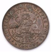 Sale 9078 - Lot 98 - A Colonial Australian Penny, J Macgregor George St Sydney c1855