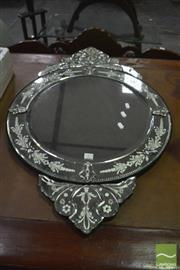 Sale 8390 - Lot 1483 - Small Venetian Style Mirror