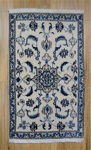 Sale 8559C - Lot 63 - Persian Nain 145cm x 88cm