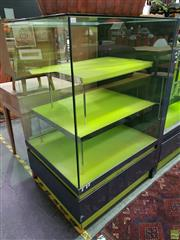 Sale 8562 - Lot 1072 - Modern Display Cabinet (H 142 x W 95 x D 80cm)