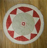 Sale 8665C - Lot 28 - Afghan Round Chobi 150cm x 150cm