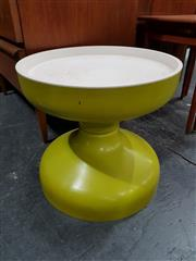 Sale 8684 - Lot 1012 - Moulded Italian Plastic Side Table