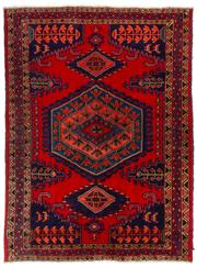 Sale 8715C - Lot 119 - A Persian Hamadan Classed As Village Rugs, Wool On Cotton Foundation, 215 x 160cm