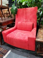 Sale 8769 - Lot 1040 - Large Chair on Swivel Base
