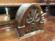 Sale 8822 - Lot 1240 - Timber Mantle Radio