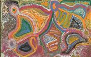 Sale 8288A - Lot 13 - Alkawari Dawson (c1930 - ) - Untitled, 2004 61 x 95cm (framed & ready to hang)