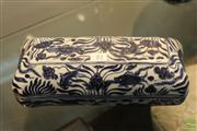 Sale 8285 - Lot 85 - Blue And White Covered Pen Box