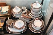 Sale 8340 - Lot 63 - Portmeirion Pottery 42 Piece Dinner Service for Eight