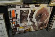 Sale 8453 - Lot 2034 - Kenneth William Paton (XX) Fall of Icarus, mixed media on board, ca90 x 120cm, signed lower right.