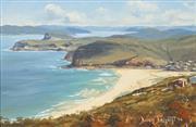 Sale 8467 - Lot 502 - Brian Baigent (1929 - ) - Kilcare & Broken Bay, 1974 29.5 x 44.5cm