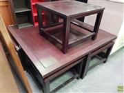 Sale 8589 - Lot 1082 - Nest of Five Tables