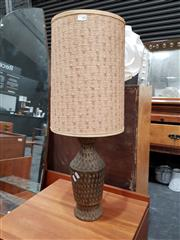 Sale 8684 - Lot 1038 - Florentine Pottery Base Table Lamp