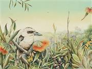 Sale 8713 - Lot 583 - Evelyn Steinmann (1959 - ) - Kookaburra 32 x 42cm