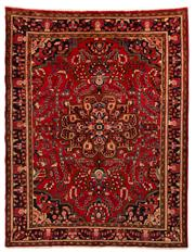 Sale 8715C - Lot 88 - A Persian Lilihan Sarough Village Rug, Wool On Cotton Foundation, 270 x 210cm
