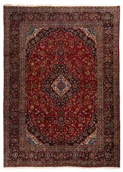 Sale 8780C - Lot 204 - A Persian Kashan From Isfahan Region 100% Wool Pile On Cotton Foundation, 395 x 287cm
