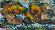Sale 8787A - Lot 5067 - Matthew Simmons (1976 - ) - Tail Lights, Yeppoon c1999 14 x 59cm