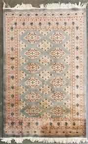 Sale 8979 - Lot 1065 - Pakistani 2 Column Carpet (187 x 124cm)