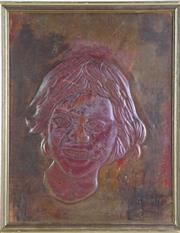 Sale 8980 - Lot 94 - Vintage Australian Copper Plaque, P North (31cm x 24cm)