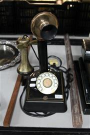 Sale 8336 - Lot 86 - Vintage Candlestick Phone