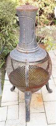 Sale 8346A - Lot 240 - A chiminea