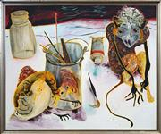 Sale 8415 - Lot 517 - Anne Hall (1945 - ) - Monkey, 1968 85.5 x 103cm