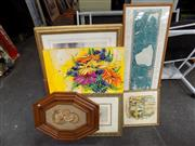 Sale 8422T - Lot 2034 - Group of Various Artworks