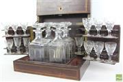 Sale 8481 - Lot 14 - Antique French Cave A' Liqueur Inlaid Box