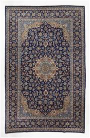 Sale 8740C - Lot 14 - A Persian Kashan From Isfahan Region 100% Wool Pile On Cotton Foundation, 411 x 265cm