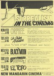 Sale 8766A - Lot 5029 - Surrealism In The Cinema - screenprint