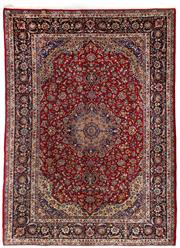 Sale 8780C - Lot 206 - A Persian Najafabad From Isfahan Region 100% Wool Pile On Cotton Foundation, 392 x 278cm