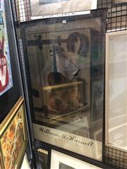 Sale 8797 - Lot 2018 - William M Harnett Museum of Art Framed Poster