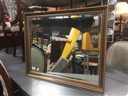 Sale 8822 - Lot 1708 - Gilt Framed Bevelled Edge Mirror