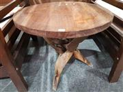 Sale 8889 - Lot 1021 - Timber Wine Table