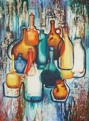 Sale 8938A - Lot 5045 - Arpine Beylerian - Still Life, c1967 65 x 54 cm (frame: 79 x 58 x 4 cm)