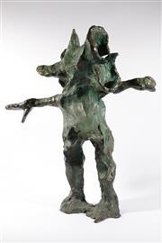 Sale 9013 - Lot 533 - Adam Cullen (1965 - 2012) - Pigman h. 75, w. 65, d. 36 cm