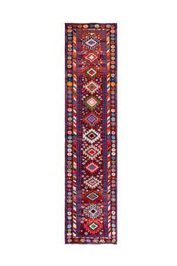Sale 9149C - Lot 23 - VINTAGE KURDISH HERKI, 85X360cm