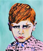Sale 8363 - Lot 588 - Allan Goddard (1950 - ) - Timmy 92 x 76cm